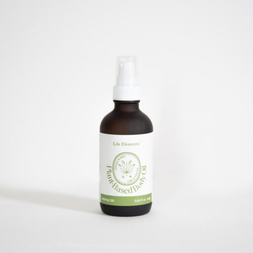 CBD and Tepezcohuite body oil from Life Elements
