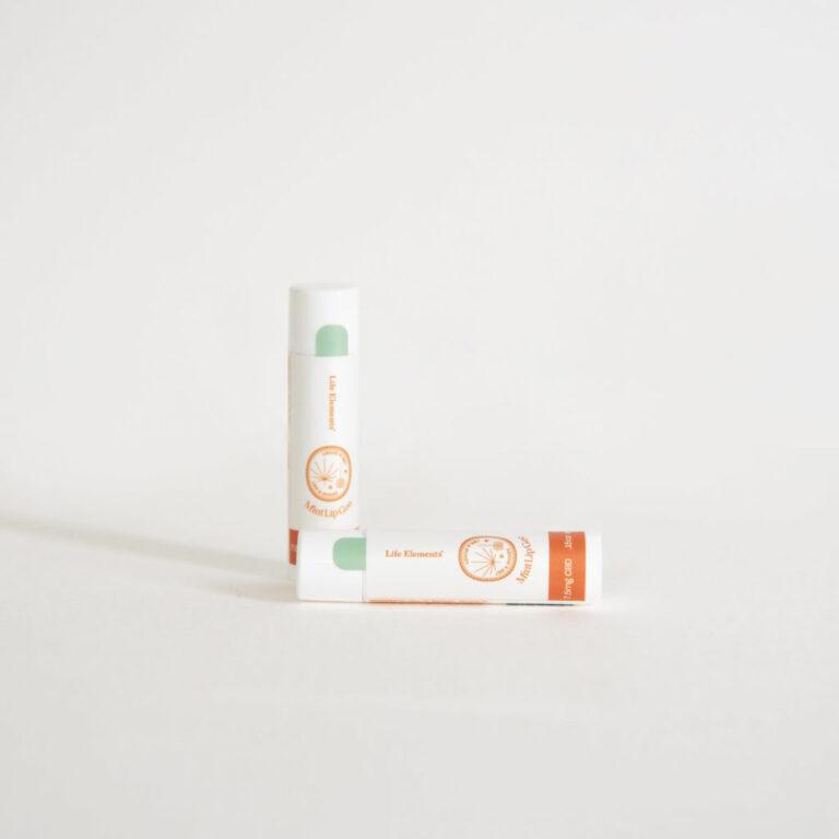 Honey CBD lip salve by Life Elements