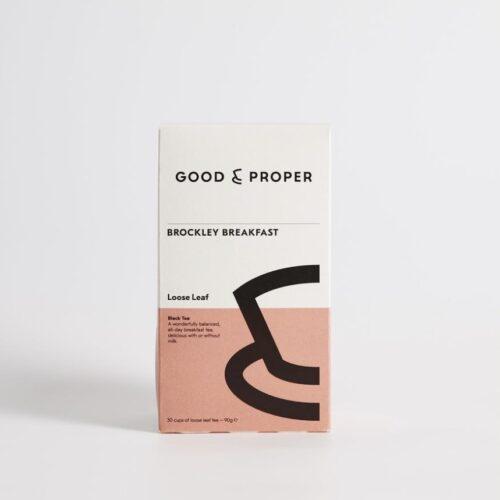Good & Proper Tea - Brockley Breakfast - loose leaf 90g