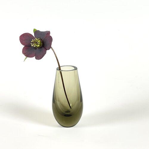 brown whitefriars vase