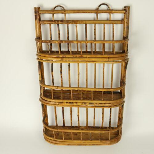 bamboo wall unit