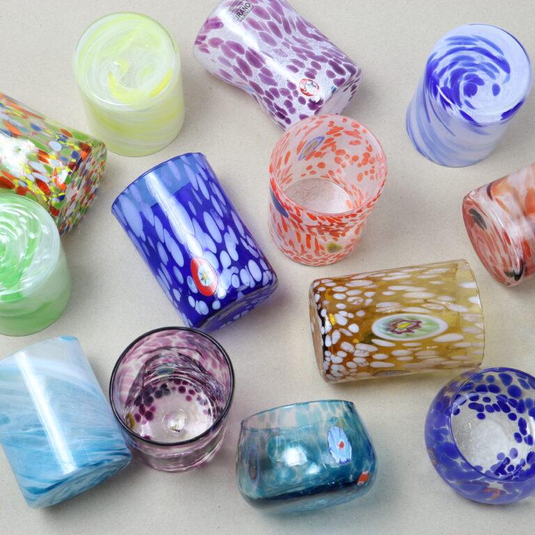 Murano glass selection