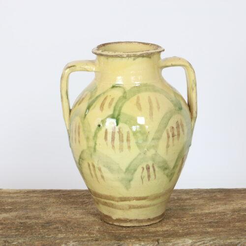cream puglian amphora