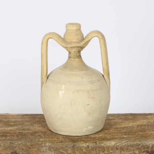 cream small amphora