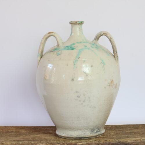 antique Italian ceramic amphora