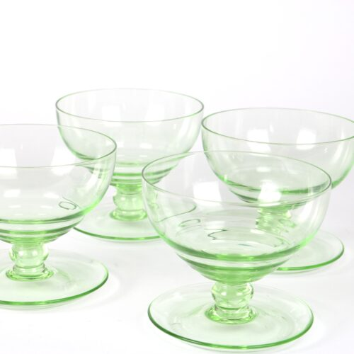 green sundae dishes