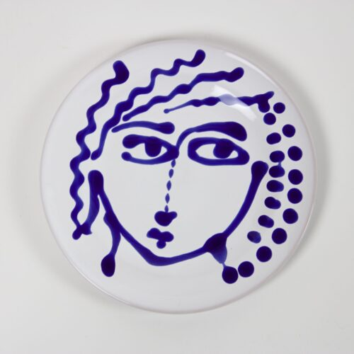 FASANO BLUE AND WHITE FACE PLATE