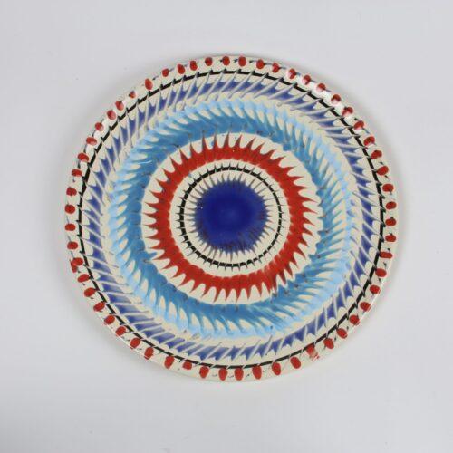 Fasano Contemporary swirl plate